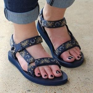 2150390e6a15a8 Teva Shoes -  SUN AND MOON INSIGNIA BLUE  Original Universal